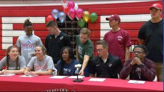Franklin County has eleven athletes continue athletic careers