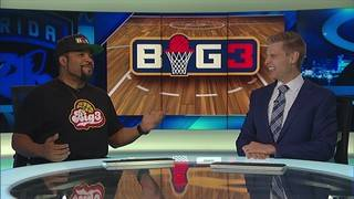 Ice Cube arrives in South Florida for BIG3 basketball tournament
