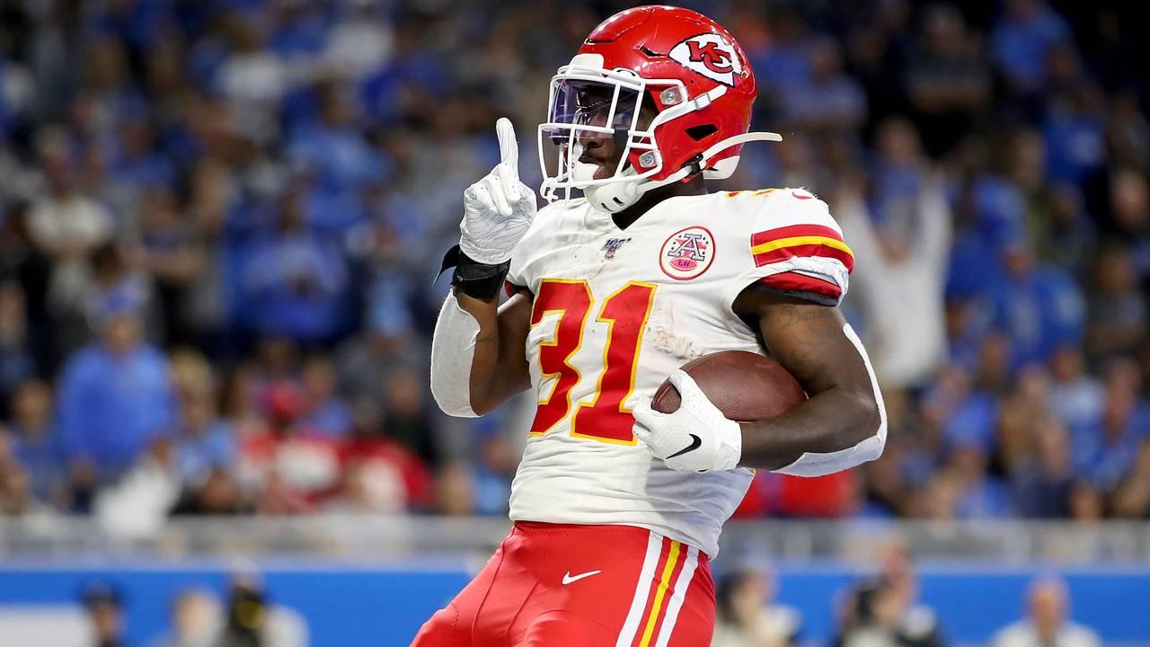 Darrell Williams Detroit Lions vs Chiefs 2019