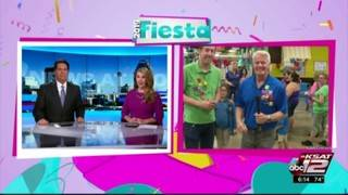 KSAT12 Weather Authority Fiesta Medal Giveaway: PicaPica Plaza | Fiesta