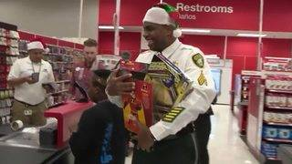 Miami-Dade corrections officers take children on early Christmas shopping spree
