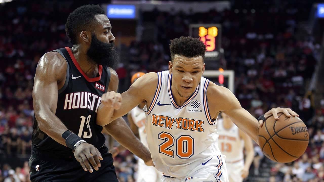 3375f97df414 James Harden scores 26 in Rockets  120-96 blowout win over Knicks