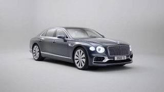 Bentley's Flying Spur sedan can go 207 mph