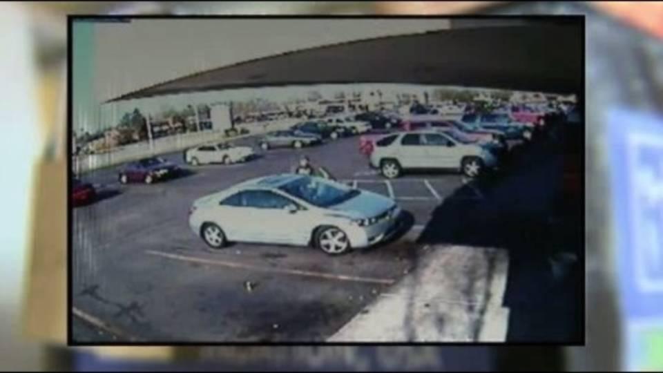 Donation jar theft suspect vehicle 4192012_11223310