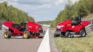 Honda lawnmower fastest in world, hitting 100 mph in 6 seconds