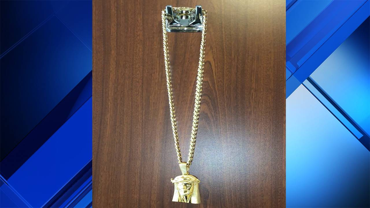Gold chain stolen from man after night at Blue Martini