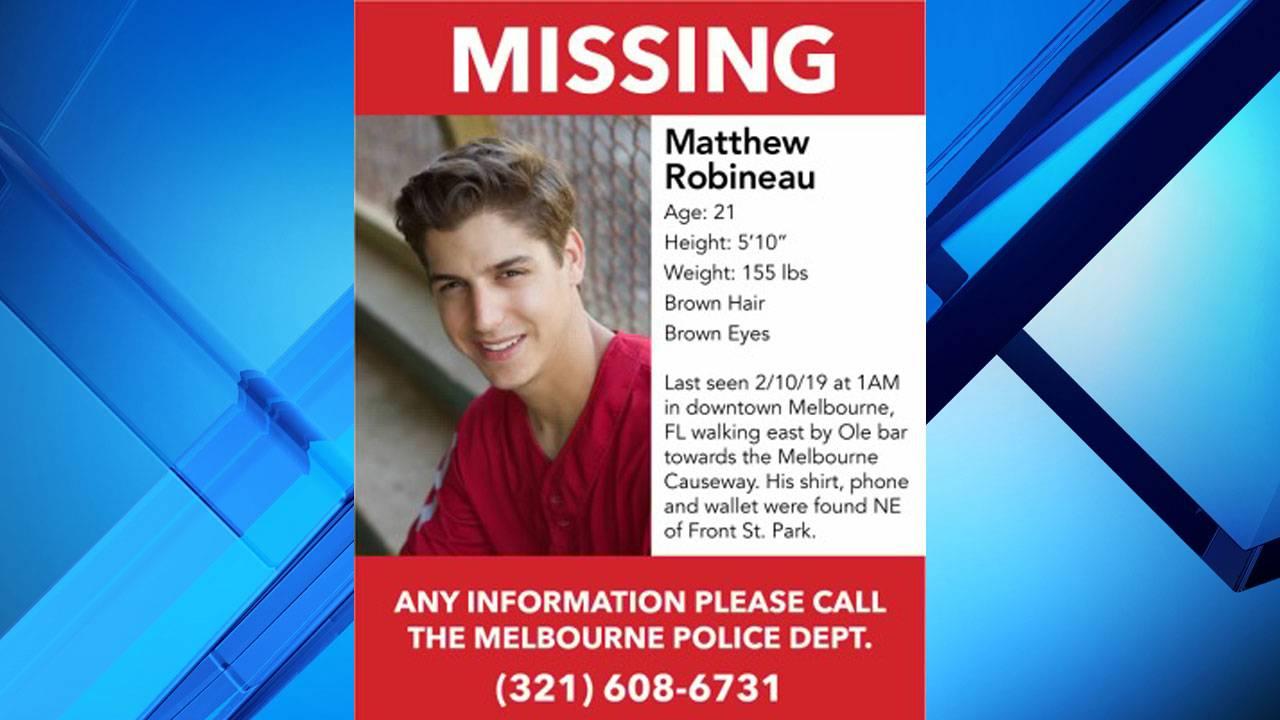 Missing Matthew Robineau