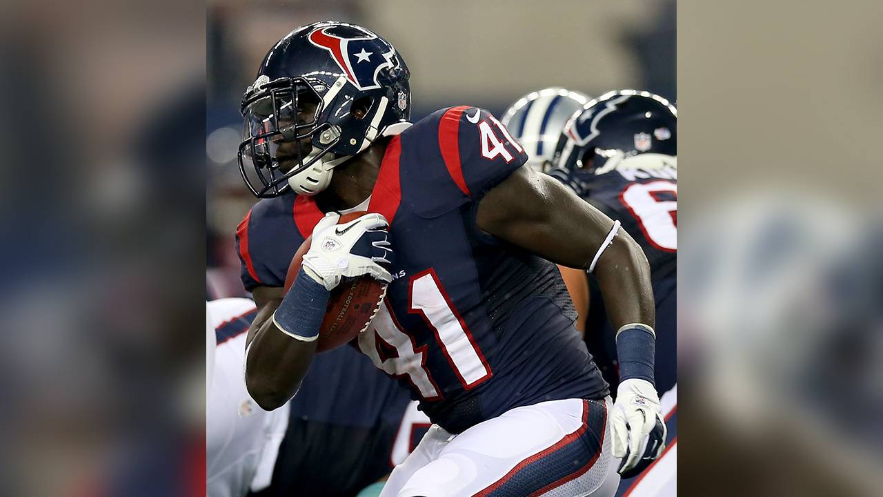 Cierre Wood texans running back