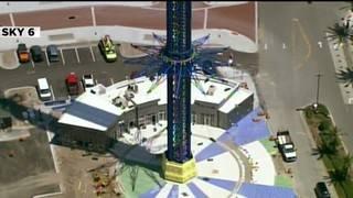 Starflyer, world's tallest swing ride, put to test in Orlando