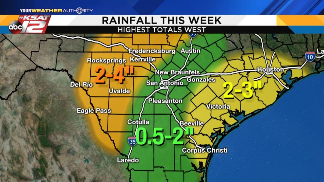 This Week S Weather Rain Chances On Labor Day Mischief In