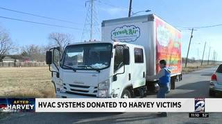HVAC systems donated to Harvey victims
