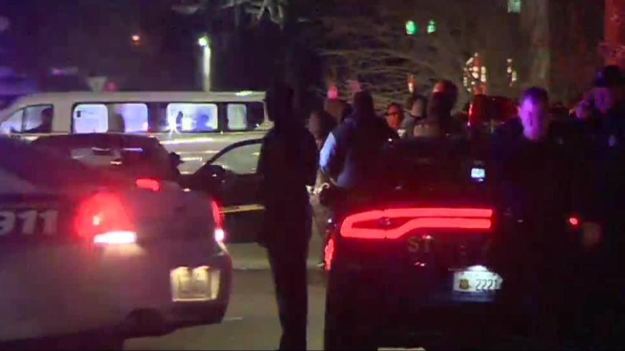 Detroit police search after officers shot on west side