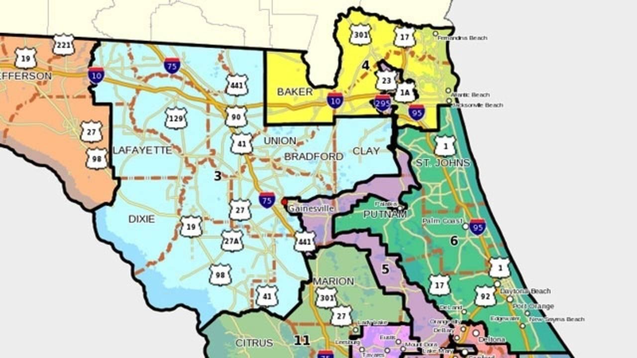 Florida Congressional Districts Map.Florida S 6th Congressional District