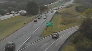 Emergency pothole repairs caused major delays on Interstate 81