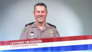 Lieutenant Tim Freebern of the Florida Highway Patrol