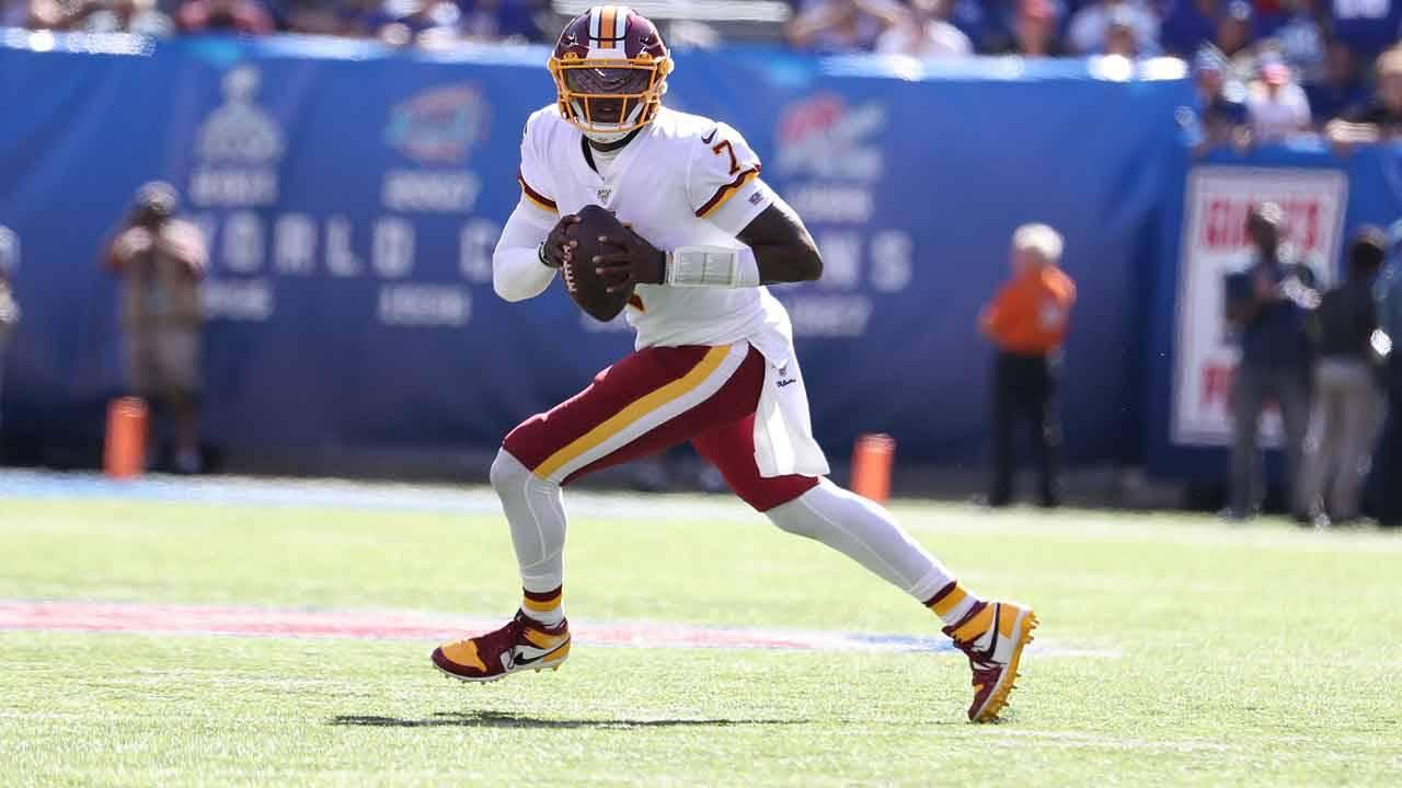 Washington Redskins QB Dwayne Haskins makes NFL debut vs New York Giants