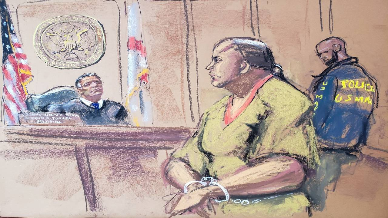 Cesar Sayoc in court Oct 29 pic 2