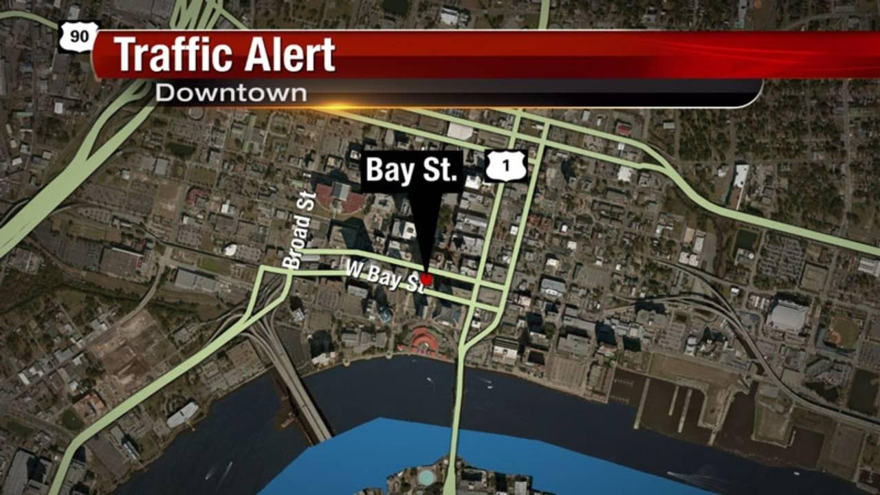 Map_ Bay Street traffic alert_32115318