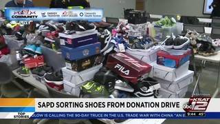 'Share the Shoes' drive brought in approximately 1,200 shoes
