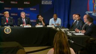President Trump speaks on immigration, MS-13 at roundtable event