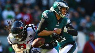 Texans lose to Eagles, lose control of No. 2 seed