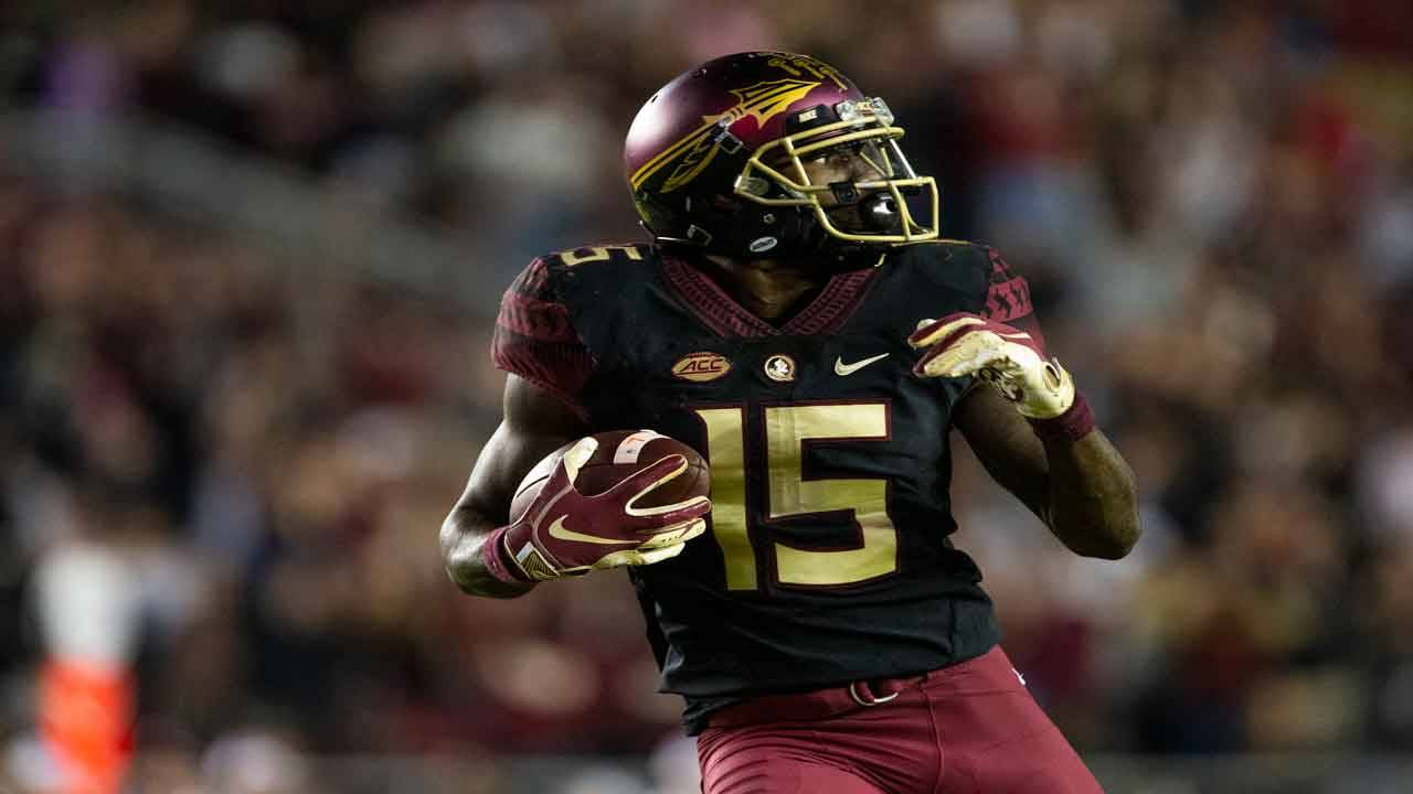 Florida State Seminoles wide receiver Tamorrion Terry catches game-winning TD vs Boston College in 2018