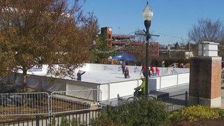 Ice skating returns to Elmwood Park in Roanoke