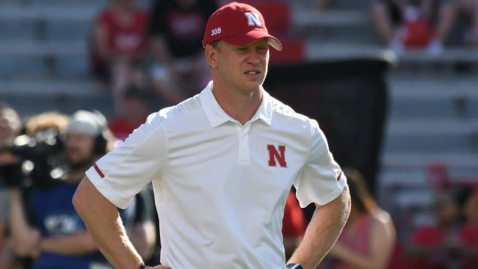 Scott Frost Nebraska football vs Troy 2018