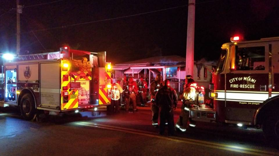 NW 52nd Street fire in Miami