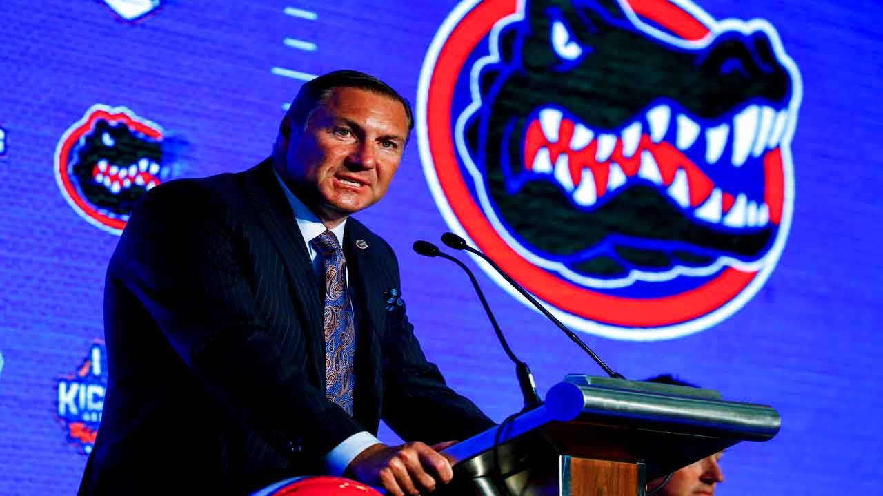 Dan Mullen at SEC media days