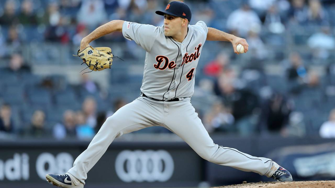 Matt Boyd Detroit Tigers vs Yankees 2019 13-strikeout game