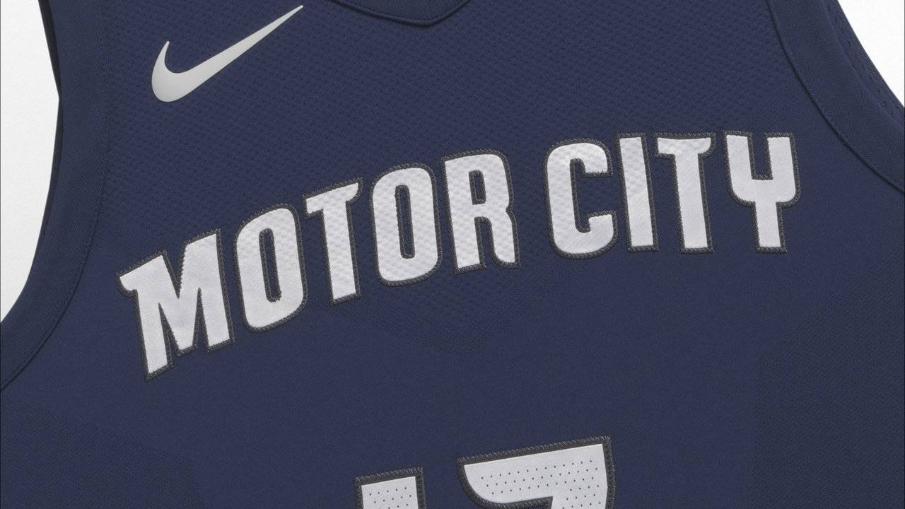 Detroit Pistons unveil new  Motor City  uniform 31f11a566