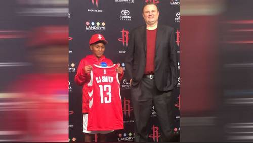 Rockets sign Make-A-Wish kid to one-game contract