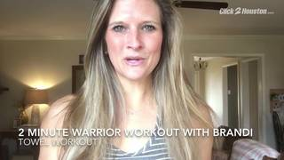 2 Minute Warrior Workout With Towels