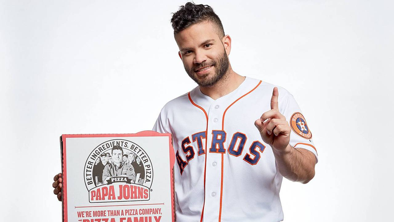 d01c701f2cce Want to meet Astros  Jose Altuve  Papa John s launches contest to do just  that