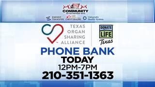 KSAT Community partners hold Donate Life Texas Phone Bank Wednesday
