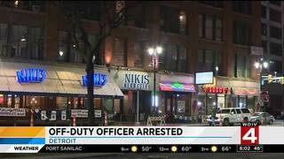 Off-duty Detroit police officer in court for alleged assault of girlfriend