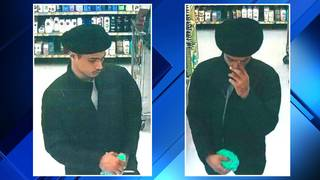 Police: Shoplifter grabs items out of loss prevention