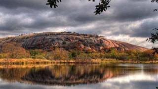 Park rangers at Enchanted Rock report surface temperature at 133 degrees