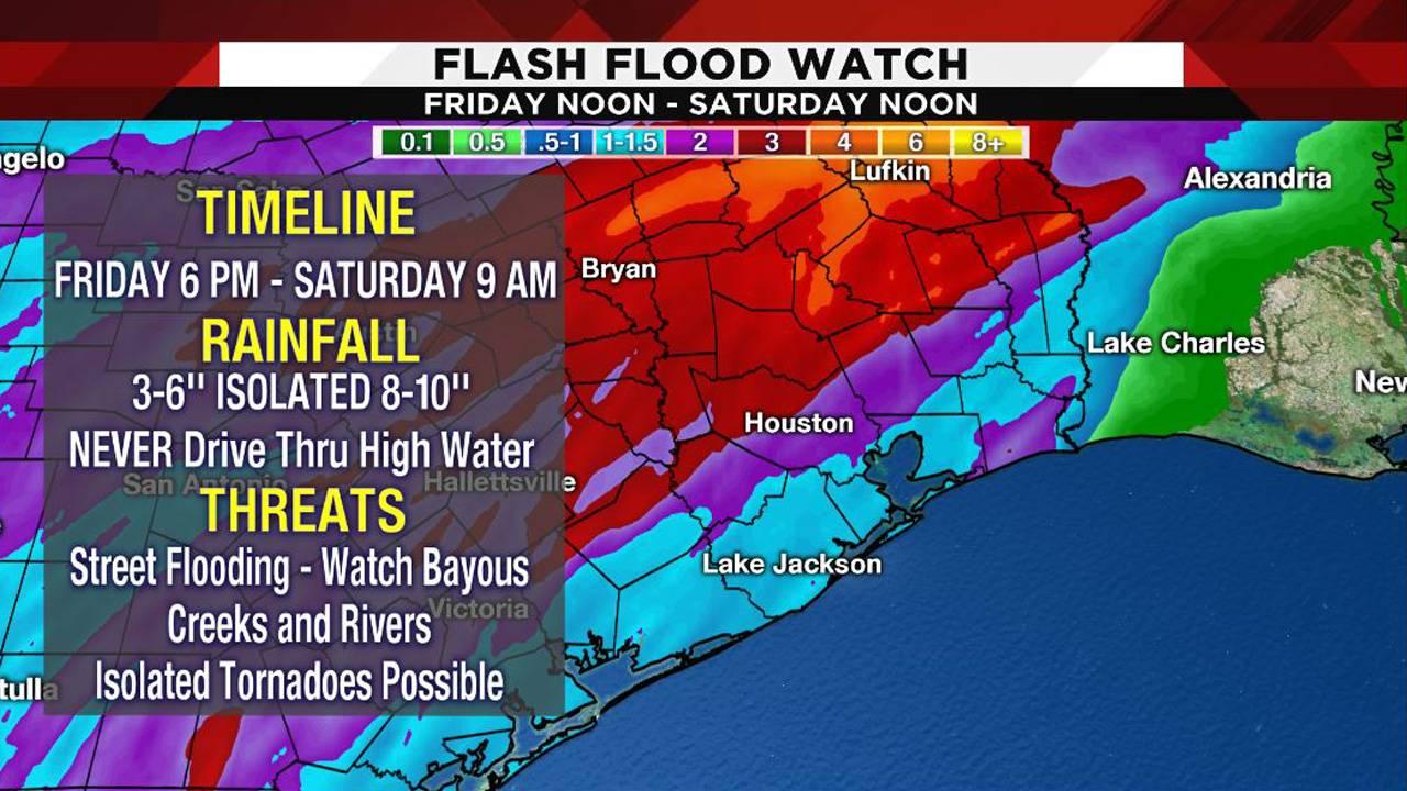 Severe weather threats 12-07-18