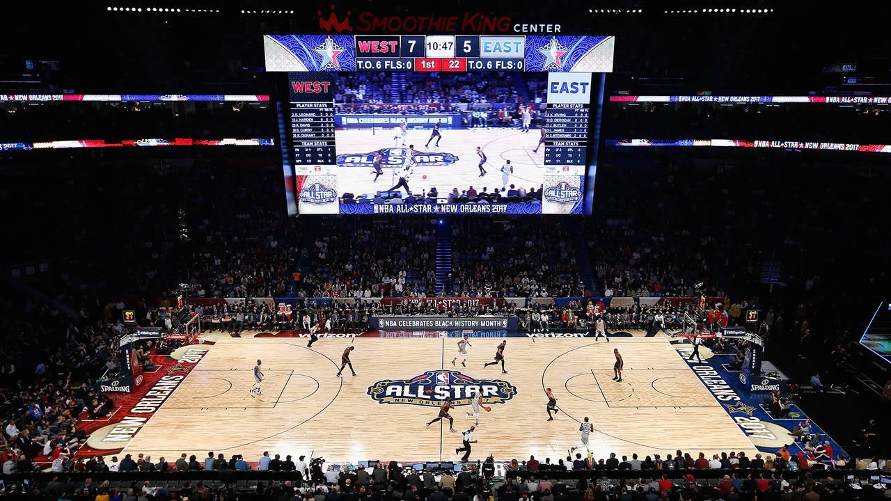 108815a51542 NBA All-Star Weekend kicks off Feb. 16 at STAPLES Center