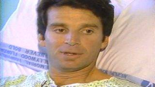 From the vault: FBI agent wounded in shootout speaks from hospital bed