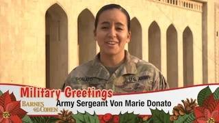 Sgt. Von Marie Donato