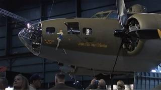 Restored World War II bomber Memphis Belle unveiled