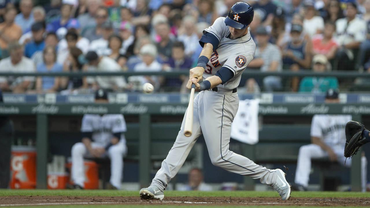 Kyle Tucker Houston Astros 2018