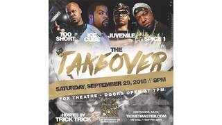 The Takeover Featuring Ice Cube Ticket Giveaway