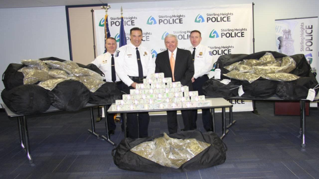 Kansas Officials Seize 350 Pounds Of Marijuana On Way To Be