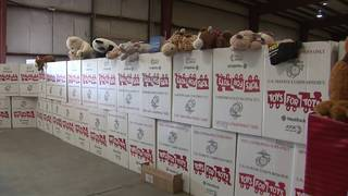 City of SA delivers toys to Toys for Tots program