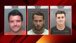 Florida men charged in connection with viral shark-dragging video
