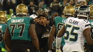Fournette, 2 Jaguars coaches fined for scuffle with Seahawks